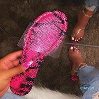 Summer Shoes Woman Sandals For Women 2020 Bling Flat Rhinestone Ladies Beach Sandles Designer Luxury Sandalias Mujer Sandels J6
