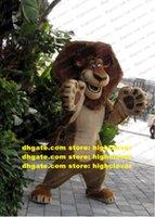 Madagascar León Alex Traje de la mascota adulto personaje de dibujos animados Traje Traje Plan de marca Promoción Publicidad Drive ZZ7682