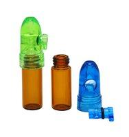 Snuff Bullet Box Dispenser Snuffer 67 мм / 82 мм высота Акриловый стеклянный стеклянный Сыркатель Ракета Щефта Щеффистки Snifter Sniffer Dispenser дисплей 329 V2