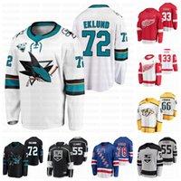 2021 Draft Hockey Jersey 33 Sebastian Cossa 55 Brandt Clarke 66 Zachary L'Heureux 72 William Eklund 78 Brennan Othmann
