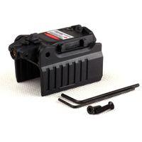 Scopata da caccia Pistola compatta Laser rossa Sight Mini Airsoft Pointer High Mount Dot Tactical