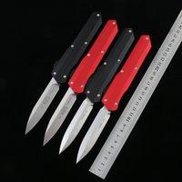 عالية الجودة الفن knifetactical سكين d2 الصلب بليد 6061-T6 سبائك الألومنيوم مقبض الصيد الطي سكين جيب التخييم edc أداة