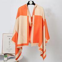 Nuevo diseño clásico bufanda de cachemira para hombres y mujeres bufandas de invierno patrón grande pashminas chales bufandas