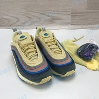 Airmax 97 Mens Shoes Running Shoes Sean Wotherspoon Deportes Sneakers SW Hybrid Moda Bajo Hombres Mujeres Entrenadores con caja US 5.5-12