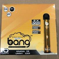 XXTRA PreFilled Max 2X1000 2 In 1 Switch Vape E 7ml Cartridge Bang Battery Pro 500mAh XXL PodS Puffs Cigarettes VS Puff Bar Dispos Coonj