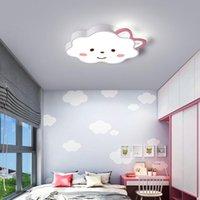 Современные светодиодные потолочные светильники для спальни гостиной дома Deco мультфильм розовые модные лампы дети детские мальчики девушки