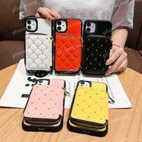 Caso de telefone da carteira de moda para iPhone 12 pro max casos com designer de luxo designer bolso bolsas Phone11 12Pro 11xs xsmax xr 8plus 8 7plus