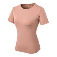 Tops atléticos de la yoga raqueta de la yoga WT009-PINK, camisetas de ejercicios para correr