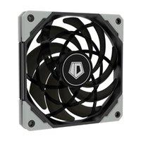ID-охлаждение 12021XT 120 мм Ультра тонкий Тихий PWM Вентилятор компьютера ПК Корпус CPU Охладитель воды Вентилятор Вентиляторы Охлаждения