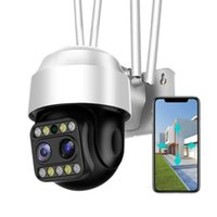 Telecamere SDeter 2MP 3MP Impermeabile Wifi Outdoor Fotocamera FHD Speed Dome Security CCTV Vision a infrarossi wireless Movimento 8x Zoom IP Cam