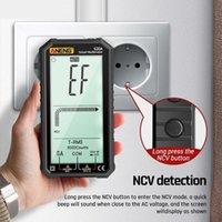 الذكية التحكم في المنزل الرقمية المتر 4.7 بوصة lcd dc / ac الجهد الحالي السعة المقاومة قياس قياس 620A اختبار NCV أنينغ