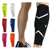 Elbow & Knee Pads 1PCS Compression Calf Sleeve For Basketball Volleyball Men Support Elastic Sports Wrap Guard Shin Leg Protector