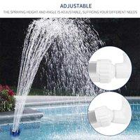 Pool & Accessories Swimming Fountain Waterfall Water Spray Sprinkler Lotus Head Shape Stand Bracket Tools Landscape Equipment