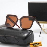 Designer Sunglasses Men Women Letter polarizing lens Eyeglasses Outdoor Shades Metal Frame Fashion Classic Lady Sun glasses Mirrors for Womens