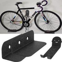 Packs Bicycle Wall Montage Stands MTB Bike Heavy Duty Duty 120kg Capacité Capacité Cyclisme Pédale Parking Support Accessoires Camion de voiture