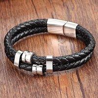 Charm Bracelets XQNI Adjustable Genuine Leather 19 21CM Special Pattern Bangle For Boyfriend Birthday Gift Big Discount Wholesale