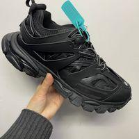 2021 трек 3.0 кроссовки дизайнерские туфли для мужчин и женщин 100% не кожаный тренажер кружевной сетка вскользь папа обувь высочайшее качество с коробкой
