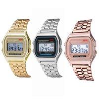 Orologi da donna di lusso e orologi da donna Designer Brand Orologi Femmes, Braccialetto o Rosa, Horloge d'Affaires, Multifonore, LED, Sport Numrique