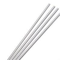 Wholessale 100 teile / los Metallstecker wiederverwendbar Hohe Qualität 304 Edelstahl Trinkrohr 267mm * 6mm E-co Freundliche gebogene Strohhalme 489 R2