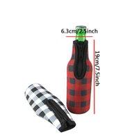Ensemble de bouteille de bière en caoutchouc Néoprène Bières Bières Ensembles de barres Produits Isolation Impression à chaud à chaud Logo Personnalisé Taille Cuisine GWE8747