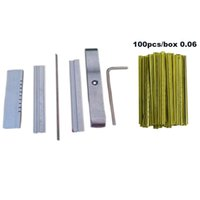 Tin foil Tool with 100PCS BOX 0.05MM 0.06MM Strips Door Lock Opener Locksmith Tools Picks Set