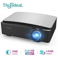 ThundeaL YG650 Projector Full HD Native 1920 x 1080P LED Proyector YG651 5G WIFI Android Smart Phone HD Beamer 3D Home Video Theater