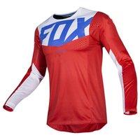 Men's T shirt polo tee Motorcycle Mountain bike Team Downhill Jersey Mtb Offroad Dh Fiets Locomotief Shirt Cross Country Martin Fox J0819
