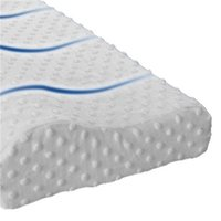 인체 공학적 컨투어 메모리 폼 베개, 옆, 뒤로, 위장 침목에 대 한 기본 침대 베개 - 여왕, 베갯잇 201212 956 R2