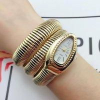 Pulseira de cobra na moda relógios mulheres moda infinito relógio meninas relógio de relógio relógio de relógio de relógios