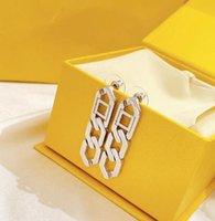 Серьги свисают Серьги S925 Стерлингового серебра для женщин Высокая полированная серьга Женщин Партия подарок