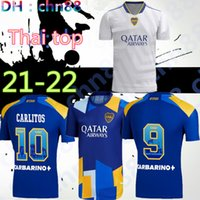 2021 2022 Boca Juniors Soccer Jersey Casa Away 21 22 Boca Juniors Osvaldo Carlitos Perez de Rossi Tevez Pavon JRS Camicia calcio sportiva