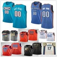 Baskılı Basketbol Chris 3 Paul 0 Westbrook Danilo Gallinari Steven 12 Adams 17 Dennis Schroder 21 Andre Roberson 31 Muscala Formaları