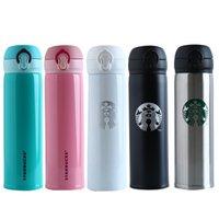 Starbucks Copo de Aço Inoxidável Thermos Thermos Thermocup Isolado Tumbler Flask Canecas Caneca de Garrafa de Viagem 420 S2