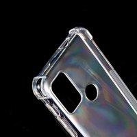 Przezroczyste przypadki na Motorola G60S Edge 20 Fusion G5 G5S Plus Case Skin Crystal Clear Soft Gel TPU Silicon Moto Jeden hiper pokrywa