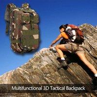 Outdoor Bags Durable Skillful Manufacture 30L 3D Backpacks Large Capacity Waterproof Knapsack Climbing Rucksack