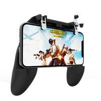 Игра Контроллеры Джойстики Охлаждение Вентилятор GamePad Pubg Телефон Контроллер Руководства Grip Gampads Smart Trigger Fire Amile Key для Mobile