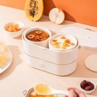 900ml caixa de almoço elétrico mini bento protable arroz fogão steamer guisado pote mingau sopa aquecedor 220v fogões