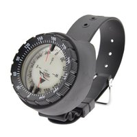 Outdoor Gadgets Luminous Compass 50 Meters High Magnetic Diving Scuba Watchband Dial Underwater Caving Camping