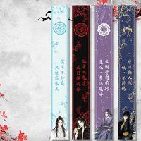 Bufandas mujer bufanda dao zu shi bufandas mujeres anime invierno cálido lan wangji wei wuxian pareja dibujos animados abuelo de cultivo demoníaco