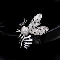 핀, 브로치 럭셔리 빈티지 꿀벌 금속 곤충 브로치 핀 여성 쥬얼리 귀여운 작은 배지 패션 헝겊 디스크 액세서리