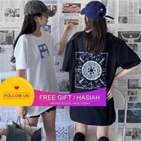 Round Ch Crosschina's Li Ning Paris Week Limited Neck Short Sleeve Female Lovers Wear Xiao Zhan Same T-shirt F