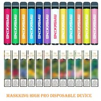 Maskking High Pro 일회용 장치 러시아 버전 1000 퍼프 600mAh 3.5ml 사전 채워짐 카트리지 E 담배 PK 에어 바 럭스 GT Bang XXL