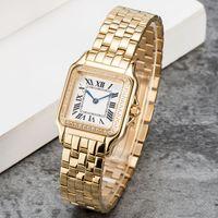 Mulheres Assista Moda Clássico Panthere 316L Gemstone de Quartz de Aço Inoxidável para Lady Presente Qualidade superior com Design WristWatch Montres de Luxe U1