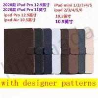 New Designer Print Flower Phone Case for iPad Mini 12345 ل i Pad 56 Pro 11 2020 10.5 10.9 12.9 2020 2016/2017