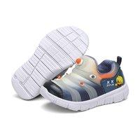 أول مشوا الطفل أحذية رياضية 2021 أزياء الأطفال الأحذية المسطحة للأطفال الفتيات تمتد تنفس شبكة الرياضة تشغيل YXYT
