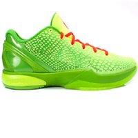 Kinder 2021 Schwarz Mamba 6 Grinch Casual Sneakers Store Männer Frauen Gute Basketballschuhe Outlet Größe 36-46