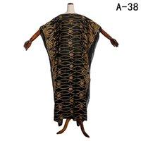 Ethnic Clothing Africa Women Dresses Abaya Long Dashiki Tassels Stones Design Black Loose Size Muslim Rode For Lady