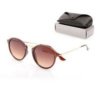 Womans de luxo óculos de sol resina lente moda homens sol óculos uv proteção homens designer óculos óculos gradiente metal dobradiça mulheres nglasses com caixas originais 447