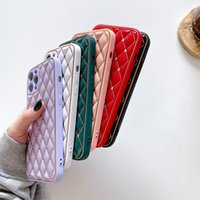 Fashion phone cases with gift box iPhone 12 PRO MAX mini 11 leather XS anti-drop 7P XR cellphone case