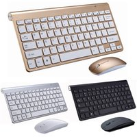 2.4G Wireless Mini Keyboard and Mouse Protable Combo Set For Notebook Laptop Mac Desktop PC Computer Smart TV PS4